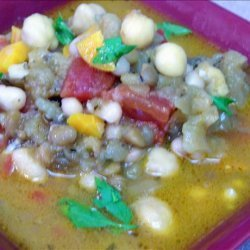 True Moroccan Lentil Soup recipe