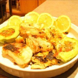 Glazed Grilled Fish recipe