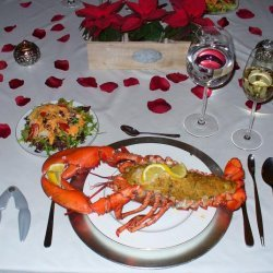 Baked Stuffed Lobster New England Style recipe