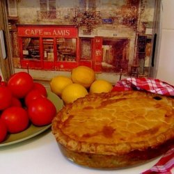 Chicken Pie, Traditional South African Style recipe
