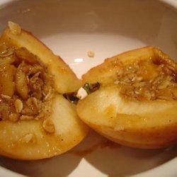 Caramel Baked Apple Crisps recipe