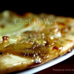 Caramelized Onion and Gorgonzola Pizza recipe
