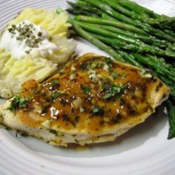 Chicken Breasts With Herbs recipe