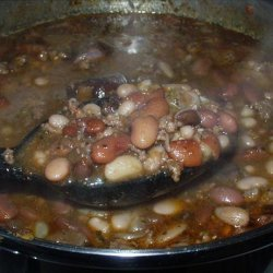 Calico Bean Soup Recipe from Mix recipe