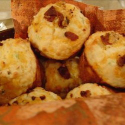 Cheddar Bacon and Green Onion Muffins recipe