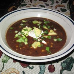 Smokey Black Bean Soup recipe