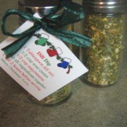 Dill Dip in a Jar recipe