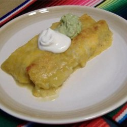 Easy Chicken & Black Bean Enchiladas recipe