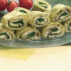 Spinach Turkey Wraps for 2 recipe