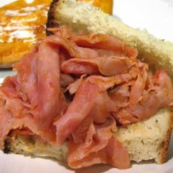 Ham Barbecue Sandwiches Pittsburgh Style recipe