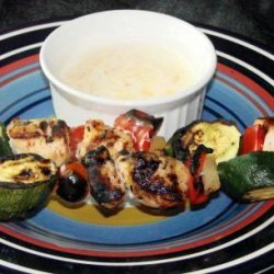Stick to Your Ribs - Chicken Kebabs recipe