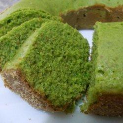 Green Tea Pound Cake recipe