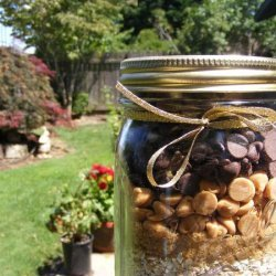 Chocolate Peanut Butter Oatmeal Cookies (Gift Mix in a Jar) recipe