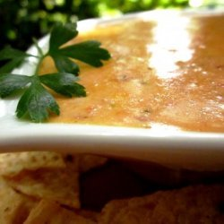 Spicy Cheese Dip (Microwave) recipe