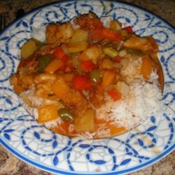 My Sweet and Sour Chicken recipe