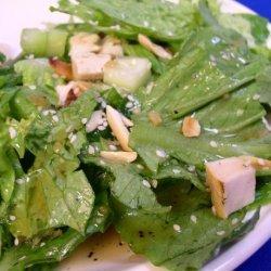 Chinese Chicken Salad & Dressing recipe