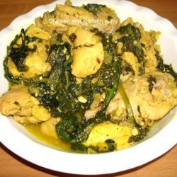 Chicken and Spinach Curry recipe