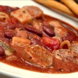 Sausage and Red Bean Stew recipe