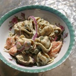 Smoked Salmon and Tortellini Salad recipe