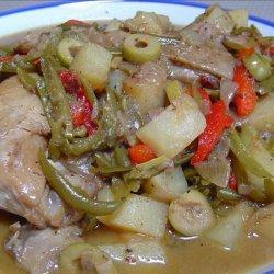 CUBAN CHICKEN STEW (Guisado De Pollo) recipe