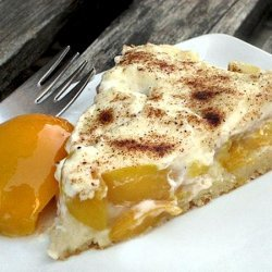 Cream Cheese Peach Cake recipe