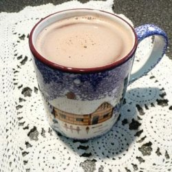 Hot Chocolate With Assorted Syrup Stir-Ins recipe