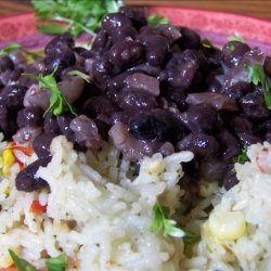 Simple Simple Simple! Black Beans and Onions recipe
