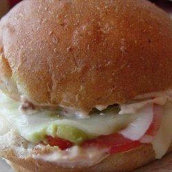 Mexican Torta (Sandwich) recipe