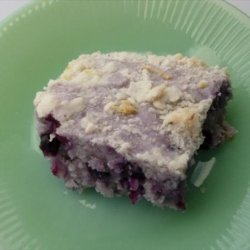Blueberry Cream Cheese Coffee Cake recipe