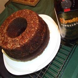 Chocolate Mocha Liqueur Cake II recipe