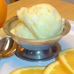 Orange Sherbet I recipe