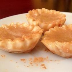 Lemon Honey Butter Tarts recipe