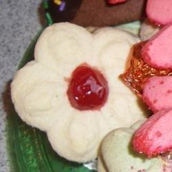 Spritz cookies V recipe