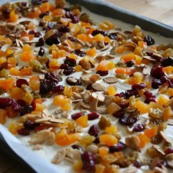 Almond Bark Snacker recipe