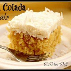 Pina Colada Cake IV recipe
