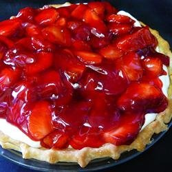 Strawberry Cream Pie To Die For recipe