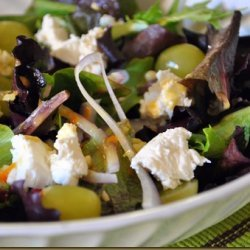Cranberry Grape Salad recipe