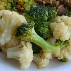Broccoli or Cauliflower with a Soy-Lemon Dressing recipe