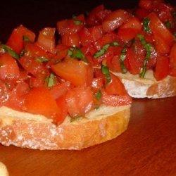Tomato and Herb Bruschetta recipe