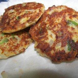 Golden Potato Cakes recipe
