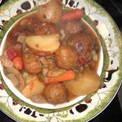 Slow Cooker Meatball Stew recipe