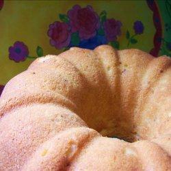Orange Cream Cheese Pound Cake recipe