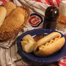 Easy Good Homemade Hot Dog Buns recipe
