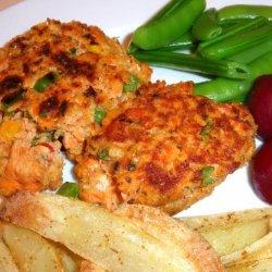 Deluxe Salmon Burger recipe