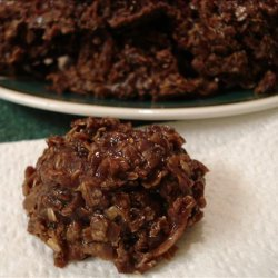 Fudgy Coconut Oatmeal Cookies recipe