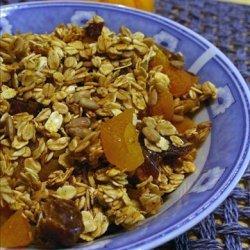 Baked Homemade Granola (Lower Fat) recipe