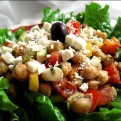 Chick Pea Salad recipe