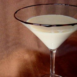 Boston Cream Pie Martini recipe