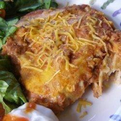 Mexican Tortilla Lasagna recipe