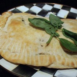 Spinach and Feta Calzone recipe